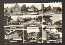 COETQUIDAN (56) SALLE de CINEMA , HOPITAL MILITAIRE , P.C. du GENERAL , Entrée