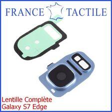 Lentille Caméra Photo + Contour + Flash +Adhésif étanche Samsung Galaxy S7 Edge