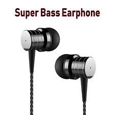 Super Bass In-Ear Kopfhörer Earphone mit Mikrofon PTM P15 Headset schwarz