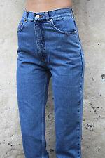 BNWT Americano Deadstock 80s Vita Alta Gamba Dritta Jeans Slim Fit 8/10/12/14