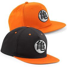 GOKU'S Formazione simbolo ricamato drago Z RAPPER cap-piatto picco Snapback Cappello