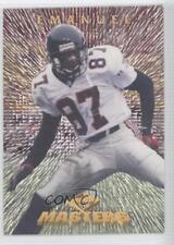1997 Collector's Edge Masters Retail #8 Bert Emanuel Atlanta Falcons Card