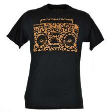 Tony Hawk Clothing Brand Cheetah Radio Young Men Graphic Tee Tshirt Black