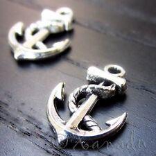 Boat Anchor Wholesale Ocean Nautical Charm Pendants C1526 - 20, 50 Or 100PCs