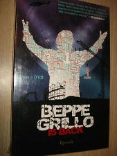 LIBRO + DVD BEPPE GRILLO IS BACK TUTTE LE VERITA' NEW