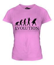 MODERN SOLDIER EVOLUTION LADIES T-SHIRT TEE TOP GIFT COSTUME FANCY DRESS