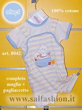 Completo clinica corto neonato a pagliaccetto  Ellepi 8042