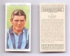 Wills 1939 Associazione Calciatori FOOTBALL-varie carte sigaretta