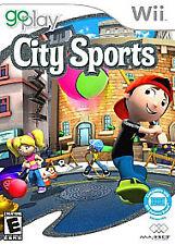 Nintendo Wii Go Play City Sports VideoGames