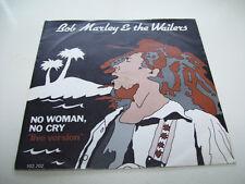 "Bob Marley and the Wailers - No Woman no Cry Live  7"" 45 VINYL HOLLAND RARE 1974"