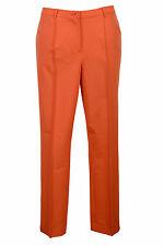 Singh S Madan Damen Stifthose Hose Chino Business Stretch orange 020705