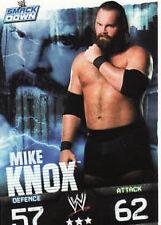 WWE Slam Attax Evolution - Mike Knox Smackdown Card