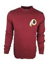 Washington Redskins Men's LT-6XL Big & Tall Mock Long Sleeve Shirt NFL A14