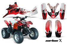 AMR RACING OFF ROAD QUAD WRAP ATV GRAPHIC STICKER KIT POLARIS PREDATOR 90 CXR