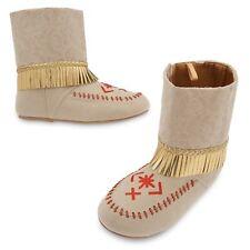 NEW Disney Store Pocahontas Costume Shoes for Girls Sz 13/1 2/3