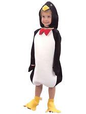 Penguin Bambino Costume Età 2-3 Natale Inverno Animale Uccello Xmas