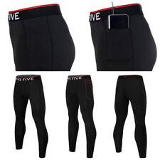 Take Five Mens Smart Pocket Skin Tight Compression Layer Pants Leggings NP 544