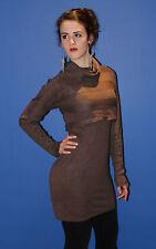 FIRETRAP Womens Mink Marl Knitted Dress (GKAY12) All Sizes RRP £75.00