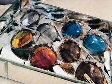BeOne Womens Polarized Darling Circular Cat Eye Sunglasses LA Casual Celebrity