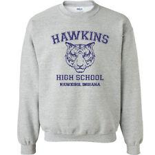539 Hawkins High School Crew Sweatshirt funny stranger tv show things costume
