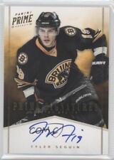 2011 Panini Prime Signatures Gold 65 Tyler Seguin Boston Bruins Auto Hockey Card