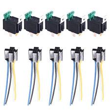 5x 12V 30A 4Polig Umschalter Wechselrelais Arbeitsstromrelais Sicherung Socket