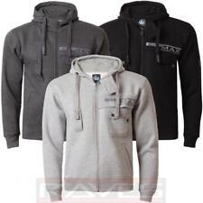Mens Fleece Full Zip Hoodie Max Edition MSW 51 Hooded Sweatshirt Top Jacket