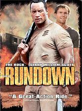 The Rundown (DVD Movie, 2004, Full Frame Edition) The Rock - Seann William Scott