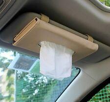 Car Tissue Box PU Leather Hanging Style Modern Automobile Styling Napkin Case