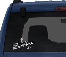 Love Doodle Art #2 - Be Mine Hearts - Valentine Emotion - Car Tablet Vinyl Decal