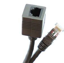 RETE Ethernet RJ45 Cat5e Cavo Di Estensione M/F 50 cm 1 M 2 M 3 M 5 M 10 M Accoppiatore LOTTO