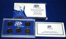2000  U.S. Mint Made STATE QUARTERS Proof Set in original BLUE box