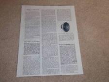 Altec Biflex Speaker Review, 408a,412a,415a, 1 page