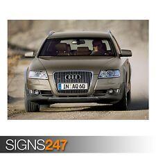 AUDI A6 Allroad 3.0 TDI (AC998) cartel de auto-foto arte cartel impresión * Todos los Tamaños
