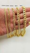 10k Yellow Gold Hollow Miami Cuban Lightweight Chain/Bracelet