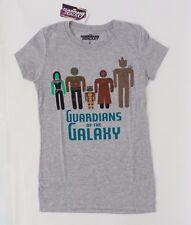 Marvel Guardians Of The Galaxy Ladies Women's Grey T-Shirt Sizes S M L XL NWT