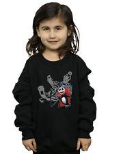 Disney Girls Nightmare Before Christmas Ghosts Of Jack Sweatshirt