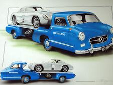 MERCEDES Renntransporter FANGIO STIRLING MOSS 1955  300SLR 300 SLR LE MANS 24 F1