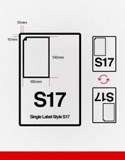 Integrated label feuilles S17 pour utiliser avec Ebay shutl étiquettes HERMES Royal Mail UPS