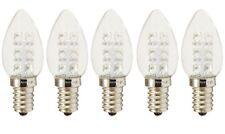 5-Bulbs A-C7E12LCW C7 LED Night Light bulb 120V E12  0.5Watt Cool White Anyray
