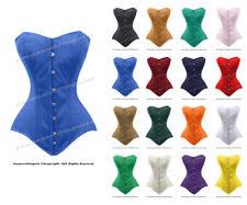 26 Double Steel Boned Waist Training Cotton (C1) Long Overbust Shaper Corset