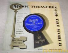 Music Treasures of the World Haydn Mozart LP VG++
