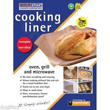 Cookasheet taglio riutilizzabile dimensioni Antiaderente Forno Grill Forno a Microonde Liner foglio 40x33cm