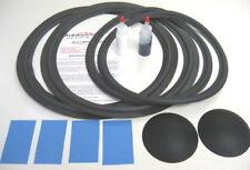 """JBL L220 14"""" Woofer & 15"""" Passive Speaker Repair Kit w/ Shims & Dust Caps!"""