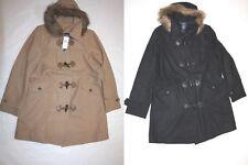 $249 WOMENS toggle COAT JACKET CHAPS Ralph Lauren (SIZES M L XL) 2 colors   ss18