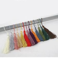 5 x Setosa COTONE tassels-cardmaking-sewing-13.5 cm Colori tradizionali