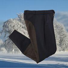 Pikeur Lugana Softshell Kontrast Reithose,Pikeur,Winter, schwarz-schoko
