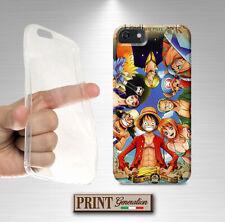 Cover per LG X screen,X cam,X power,K4,ONE PIECE ,silicone morbido