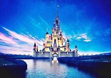 DISNEY CINDERELLA CASTLE POSTER Walt Disney Wall Art Photo Print Poster A4 A3