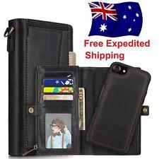 Apple iPhone 8 Plus / 7 Plus | Genuine Leather Multi-Wallet Case For Men - IN AU
